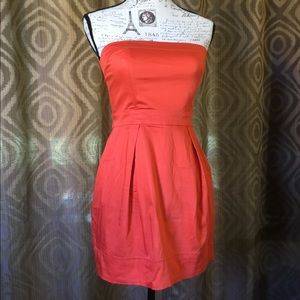 French Connection strapless dress size 6